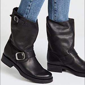 Frye Veronica Slouch Leather Boots